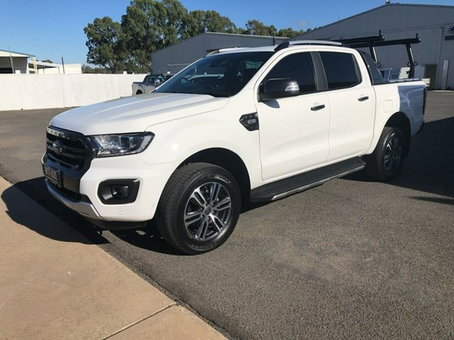 Used Ford Ranger PX MkIII 2020.25MY Wildtrak Epsom, 2020 Ford Ranger PX MkIII 2020.25MY Wildtrak Arctic White 6 Speed Sports Automatic