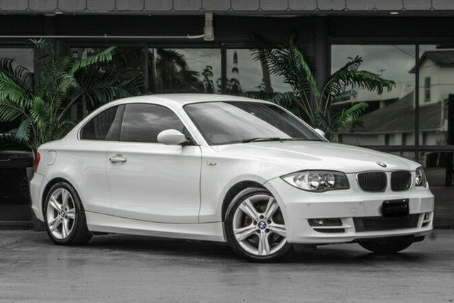 Used BMW 125i E82 125i Bowen Hills, 2009 BMW 125i E82 125i White 6 Speed Automatic Coupe