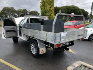2008 Mitsubishi Triton ML MY08 GL 4x2 White 5 Speed Manual Cab Chassis