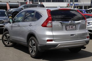 2015 Honda CR-V RM Series II MY16 VTi-L Silver 5 Speed Sports Automatic Wagon.