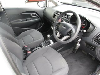 2013 Kia Rio UB MY13 S Silver 4 Speed Sports Automatic Hatchback