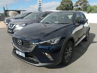 2015 Mazda CX-3 AKARI Blue 6 Speed Automatic Hatchback.