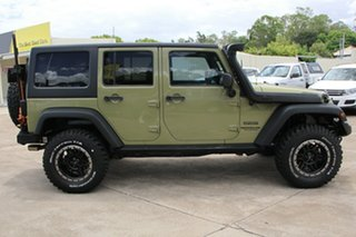2013 Jeep Wrangler JK MY2013 Unlimited Sport Commando Green 5 Speed Automatic Softtop.