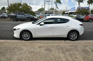 2019 Mazda 3 BP G20 Pure White 6 Speed Automatic Hatchback