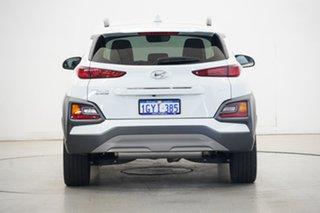 2020 Hyundai Kona OS.3 MY20 Highlander D-CT AWD Chalk White 7 Speed Sports Automatic Dual Clutch