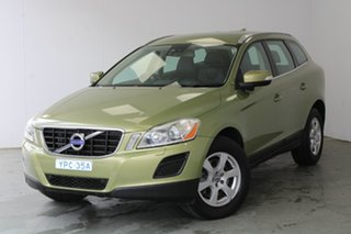 2010 Volvo XC60 DZ MY10 LE Geartronic AWD Lime Grass Green 6 Speed Sports Automatic Wagon