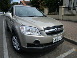 2009 Holden Captiva CG MY10 SX (4x4) Brown 5 Speed Automatic Wagon.