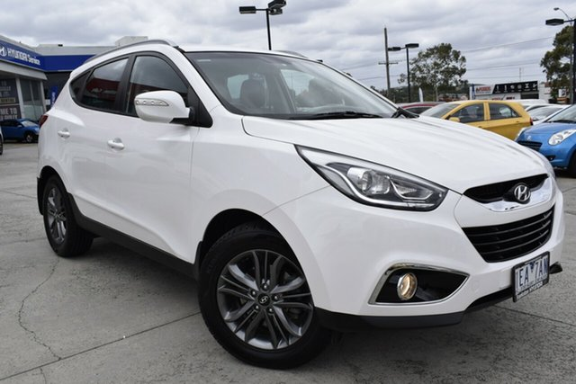 Used Hyundai ix35 LM3 MY14 SE Ferntree Gully, 2013 Hyundai ix35 LM3 MY14 SE White 6 Speed Sports Automatic Wagon