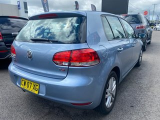 2011 Volkswagen Golf VI MY11 118TSI DSG Comfortline Blue 7 Speed Sports Automatic Dual Clutch