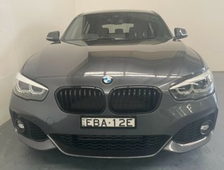 2019 BMW 1 Series F20 LCI-2 118i Steptronic M Sport Mineral Grey 8 Speed Sports Automatic Hatchback.