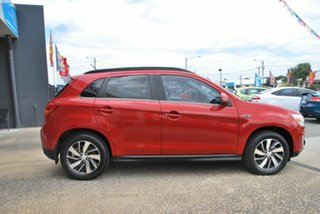 2014 Mitsubishi ASX XB MY15 XLS (4WD) Red 6 Speed Automatic Wagon