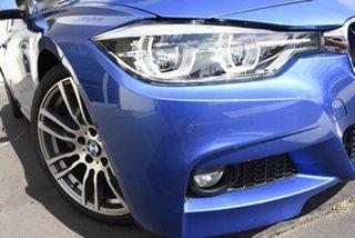 2016 BMW 3 Series F30 LCI 330i M Sport Blue 8 Speed Sports Automatic Sedan.