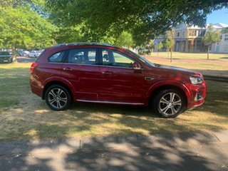 2016 Holden Captiva CG MY17 LTZ AWD Red 6 Speed Sports Automatic Wagon