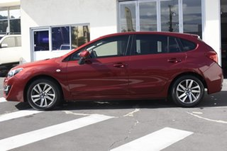 2015 Subaru Impreza G4 MY15 2.0i Lineartronic AWD Premium Red 6 Speed Constant Variable Hatchback