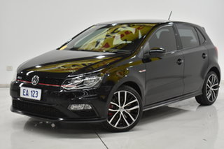 2016 Volkswagen Polo 6R MY16 GTI DSG Grey 7 Speed Sports Automatic Dual Clutch Hatchback.