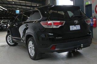 2016 Toyota Kluger GSU55R GX (4x4) Eclipse Black 6 Speed Automatic Wagon.