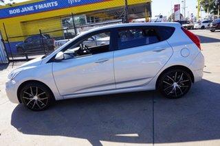 2015 Hyundai Accent RB3 MY16 Active Sleek Silver 6 Speed Constant Variable Sedan.
