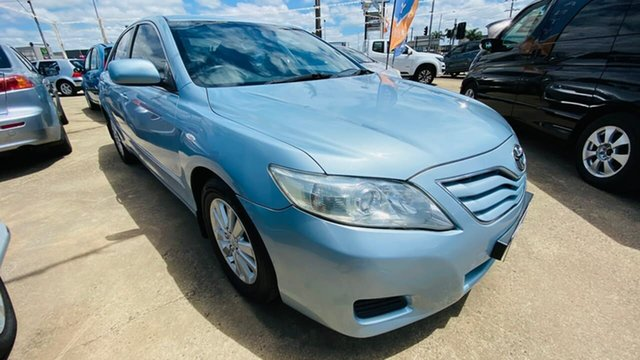 Used Toyota Camry ACV40R MY10 Altise Maidstone, 2010 Toyota Camry ACV40R MY10 Altise Blue 5 Speed Automatic Sedan