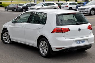 2014 Volkswagen Golf VII MY14 90TSI Comfortline White 6 Speed Manual Hatchback.