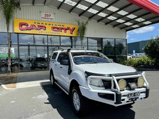2012 Ford Ranger PX XL 3.2 (4x4) White 6 Speed Automatic Double Cab Pick Up.