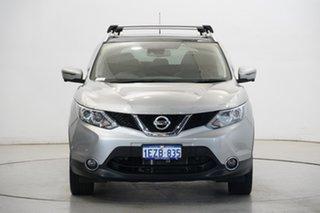 2016 Nissan Qashqai J11 TI Silver 1 Speed Constant Variable Wagon.