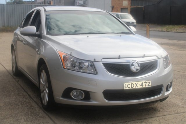 Used Holden Cruze JH MY12 CDX West Footscray, 2012 Holden Cruze JH MY12 CDX Silver 6 Speed Automatic Sedan