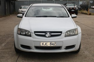 2009 Holden Commodore VE MY10 Omega White 6 Speed Automatic Sedan.