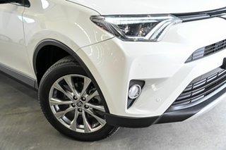 2016 Toyota RAV4 ASA44R Cruiser AWD White 6 Speed Sports Automatic Wagon.