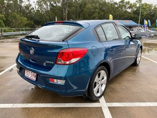 2012 Holden Cruze JH MY12 Equipe Green 6 Speed Automatic Hatchback.