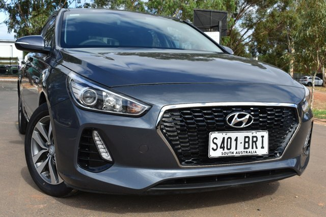 Used Hyundai i30 PD MY18 Active St Marys, 2017 Hyundai i30 PD MY18 Active Grey 6 Speed Manual Hatchback