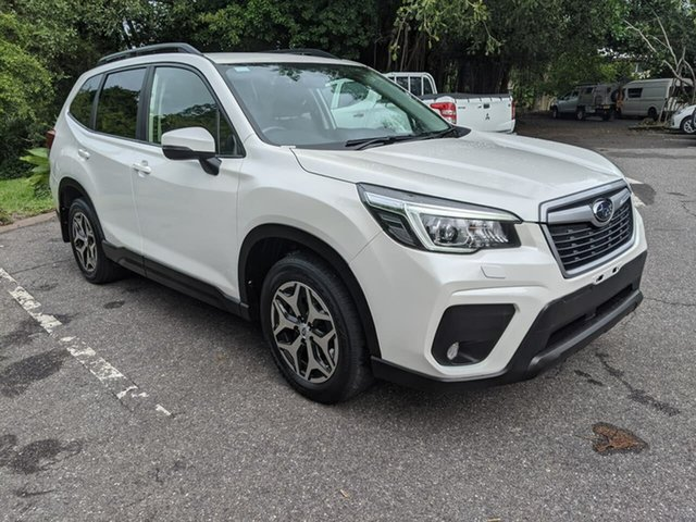Used Subaru Forester S5 MY19 2.5i CVT AWD Stuart Park, 2018 Subaru Forester S5 MY19 2.5i CVT AWD White 7 Speed Constant Variable Wagon