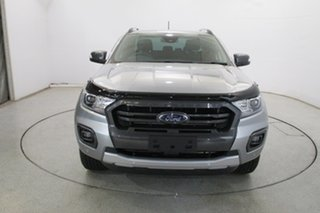 2020 Ford Ranger PX MkIII 2020.75MY Wildtrak Silver 10 Speed Sports Automatic Double Cab Pick Up.