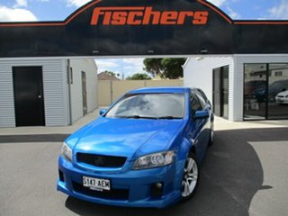 2010 Holden Commodore VE MY10 SV6 Sportwagon Blue 6 Speed Sports Automatic Wagon.
