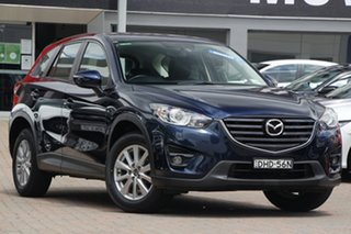 2016 Mazda CX-5 KE1032 Maxx SKYACTIV-Drive i-ACTIV AWD Sport Blue 6 Speed Sports Automatic Wagon.