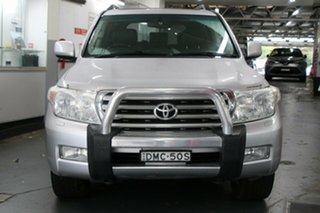 2009 Toyota Landcruiser UZJ200R 09 Upgrade Sahara (4x4) Silver Pearl 5 Speed Automatic Wagon