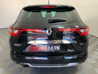 2017 Renault Megane KFB GT-Line EDC Black 7 Speed Sports Automatic Dual Clutch Wagon