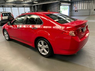 2013 Honda Accord Euro CU MY13 Red 5 Speed Automatic Sedan