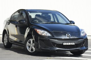2012 Mazda 3 BL10F2 Neo Activematic Black 5 Speed Sports Automatic Sedan.