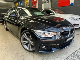 2016 BMW 4 Series F32 428i M Sport Black Sapphire Sports Automatic Coupe.