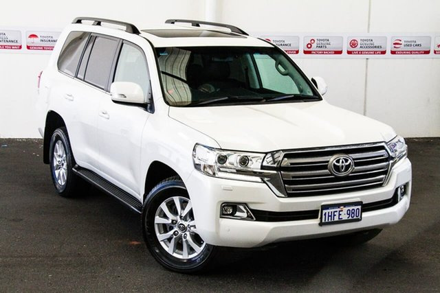 Pre-Owned Toyota Landcruiser VDJ200R MY16 VX (4x4) Rockingham, 2018 Toyota Landcruiser VDJ200R MY16 VX (4x4) Crystal Pearl 6 Speed Automatic Wagon