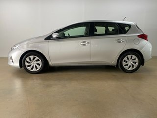 2015 Toyota Corolla ZRE182R Ascent Silver 7 Speed CVT Auto Sequential Hatchback