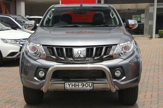 2017 Mitsubishi Triton MQ MY17 Exceed Double Cab Titanium 5 Speed Sports Automatic Utility