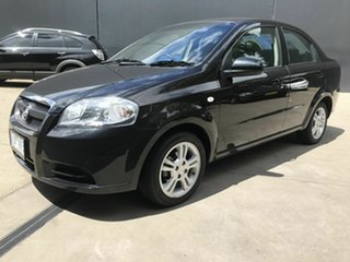2010 Holden Barina TK MY10 Black 4 Speed Automatic Sedan