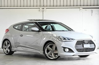 2012 Hyundai Veloster FS Coupe Grey 6 Speed Manual Hatchback.