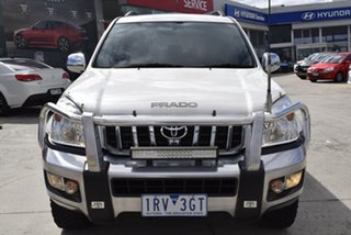2007 Toyota Landcruiser Prado KDJ120R GXL White 5 Speed Automatic Wagon.