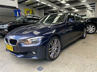 2013 BMW 3 Series F30 328i Blue Metallic Sports Automatic Sedan