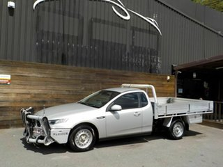 2015 Ford Falcon FG X Super Cab Silver 6 Speed Sports Automatic Cab Chassis