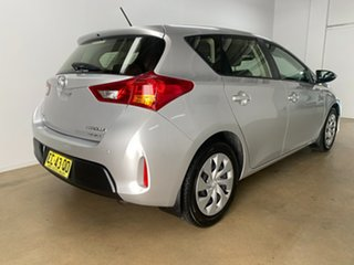 2015 Toyota Corolla ZRE182R Ascent Silver 7 Speed CVT Auto Sequential Hatchback.