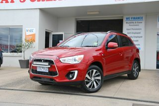 2014 Mitsubishi ASX XB MY15 XLS (4WD) Red 6 Speed Automatic Wagon.