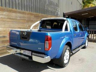 2013 Nissan Navara D40 S6 MY12 ST Blue 6 Speed Manual Utility.